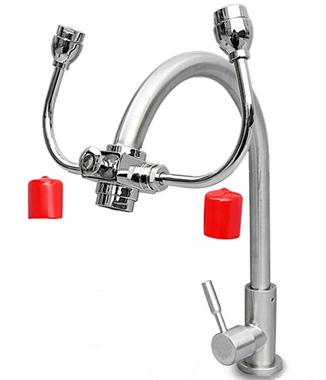 Hình ảnh Vòi rửa mắt khẩn cấp kết hợp rửa tay UK0711A