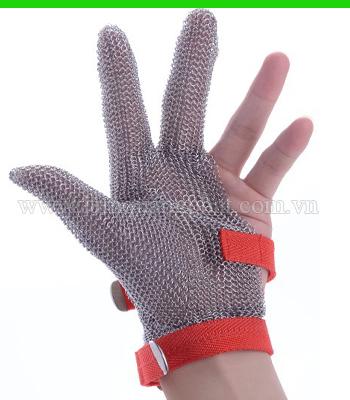 Hình ảnh Găng tay inox 3 ngón chống cắt