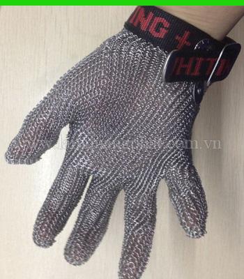 Hình ảnh Găng tay inox 5 ngón chống cắt