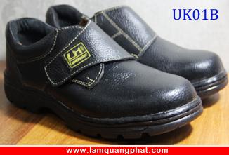 Hình ảnh Giày bảo hộ lao động màu đen UK01B